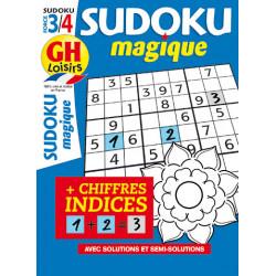 Sudoku magique N°18 - F3/4