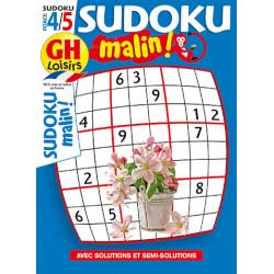 Sudoku malin N°20 F4/5