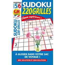 Sudoku 220 grilles N°66 F5/6