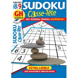 Casse-Tête Sudoku N°94 F8/9