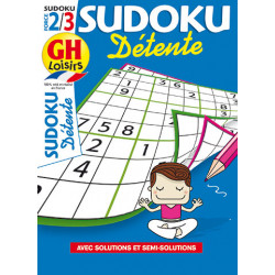 Sudoku détente N°24 F2/3