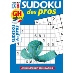 Sudoku des pros N°16 F7/8