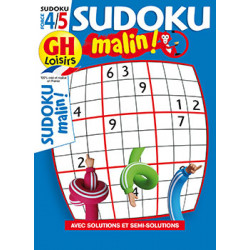 Sudoku malin N°21 F4/5