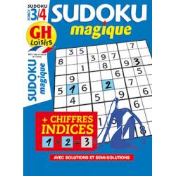 Sudoku magique N°19 - F3/4