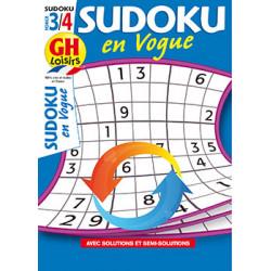 Sudoku en vogue N°13 F3/4