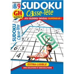 Casse-Tête Sudoku N°95 F8/9