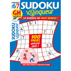 Sudoku vainqueur N°79 F6/7