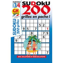 Sudoku 200 grilles en poche...