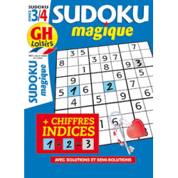 Sudoku magique N°20 - F3/4