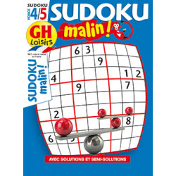 Sudoku malin N°22 F4/5