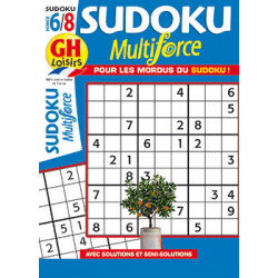 Sudoku Multiforce N°48 F6/8