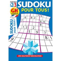 Sudoku pour tous N°18 F2/3
