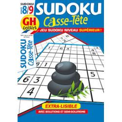 Casse-Tête Sudoku N°96 F8/9