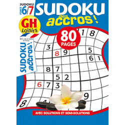 Sudoku des accros N°16 F6/7