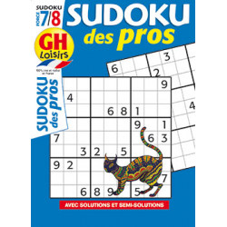 Sudoku des pros N°18 F7/8