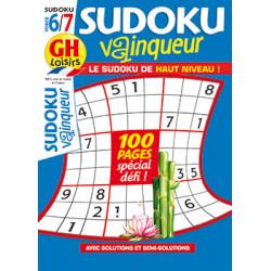 Sudoku vainqueur N°80 F6/7