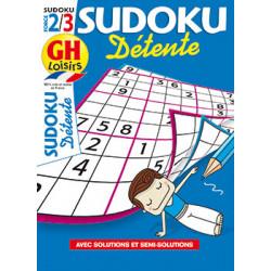 Sudoku détente N°26 F2/3