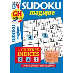 Sudoku magique N°21 - F3/4