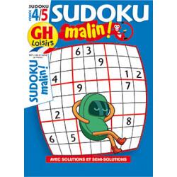 Sudoku malin N°23 F4/5