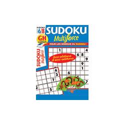 Sudoku Multiforce N°44 F6/8