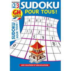 Sudoku pour tous N°15 F2/3