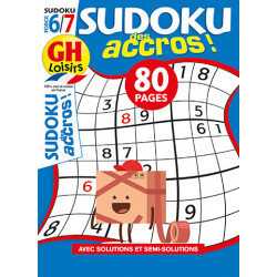 Sudoku des accros N°14 F6/7